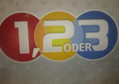 """Zuschauer bei """"1, 2 oder 3"""" 2"""