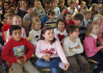 Der Nikolaus besucht unsere Schule 1