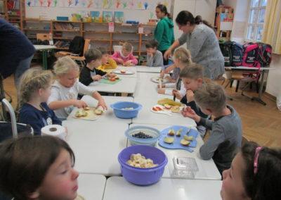 Gesundes Schulfrühstück 1