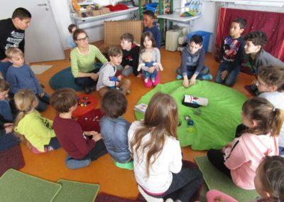 Die Murmels besuchen uns - Lesung mit Andrea Eigner 16