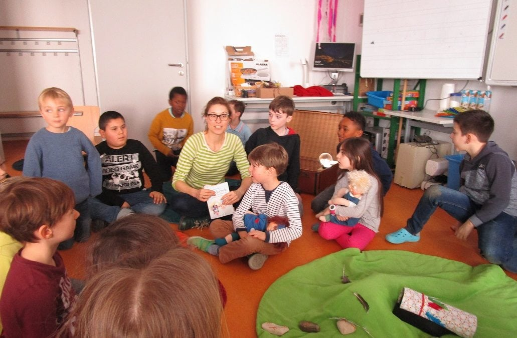 Die Murmels besuchen uns – Lesung mit Andrea Eigner