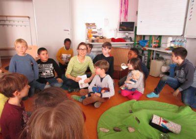 Die Murmels besuchen uns - Lesung mit Andrea Eigner 18
